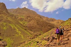 Trekking Atlas Mountains in Morocco