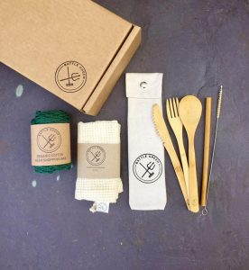 Eco friendly small plastic-free kit