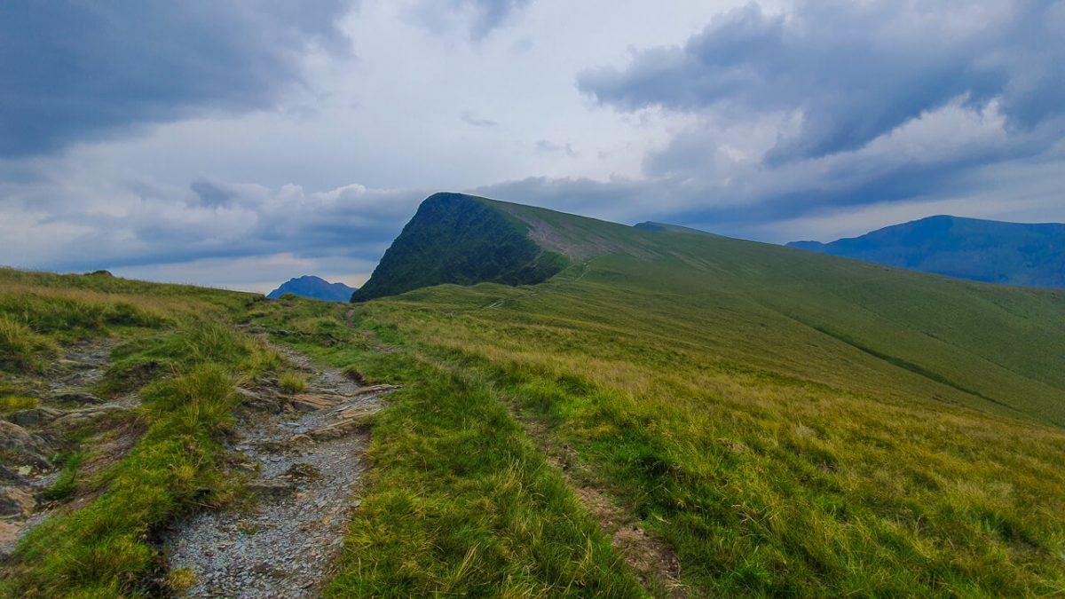 Hiking up to Y Garner's in Snowdonia