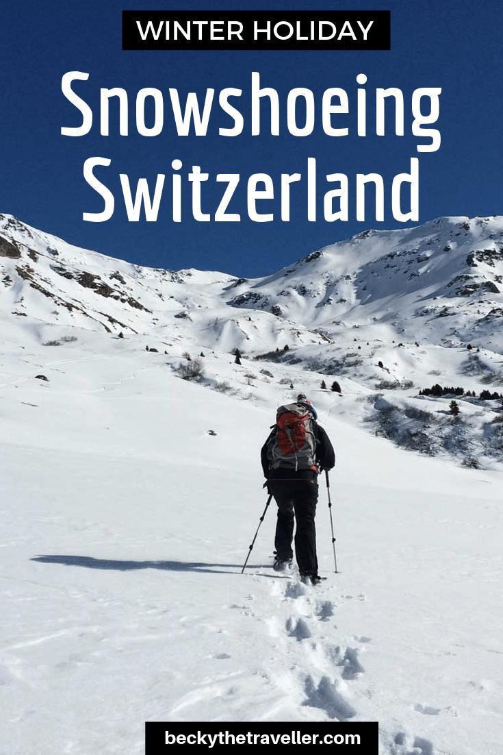 Snowshoeing Holiday Switzerland