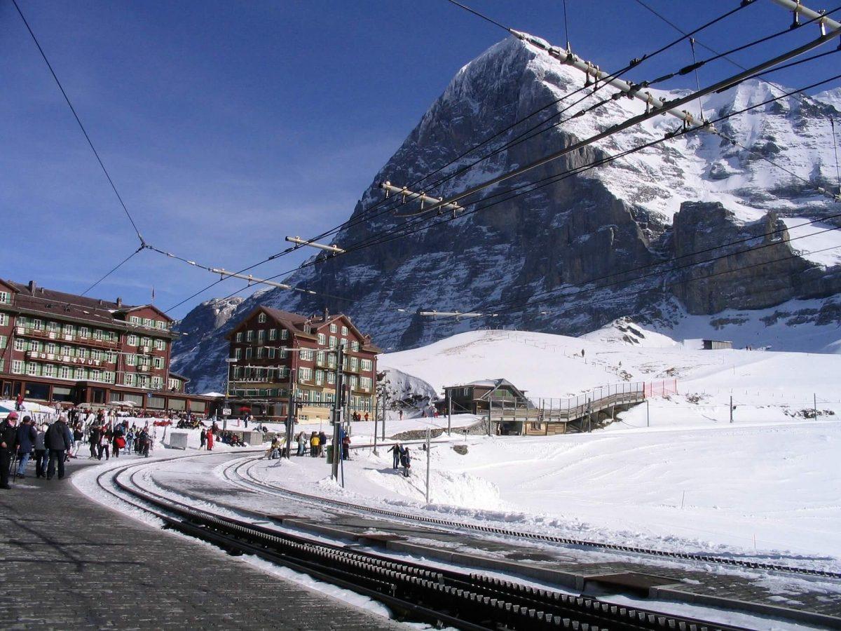Kleine Scheidegg Eiger Switzerland