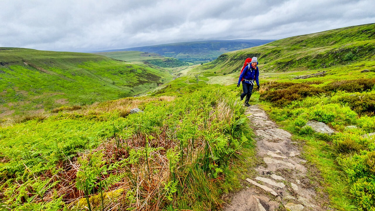 Hiking along the Pennine Way