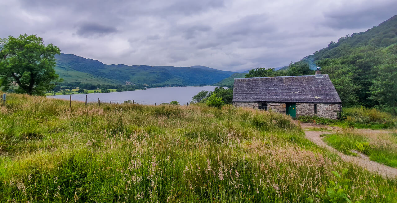 Bothy on the West Highland Way