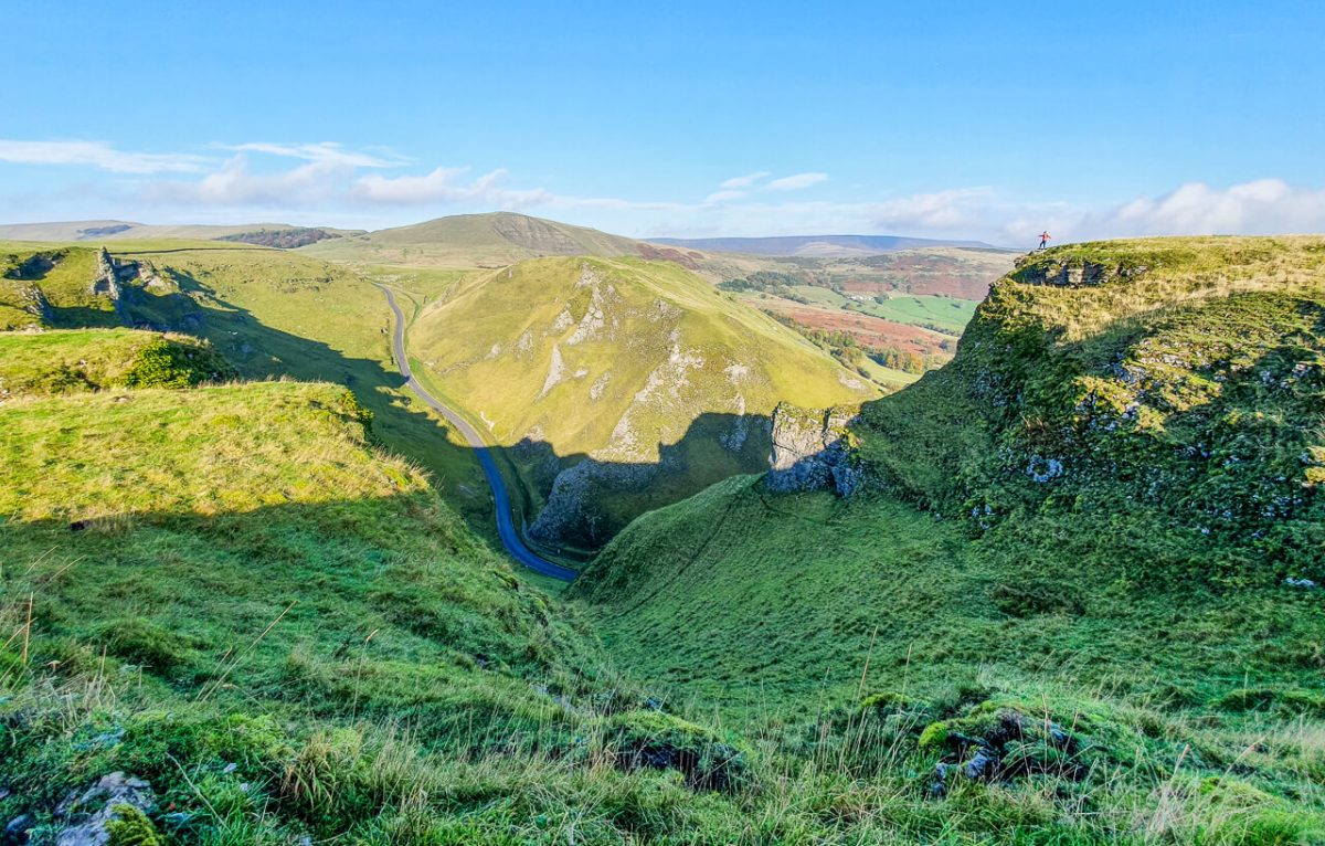 Winnats Pass walk, Peak District
