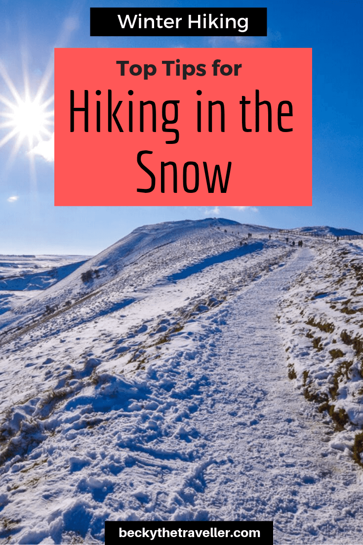 Winter Hiking for Beginners Peak District in the Snow