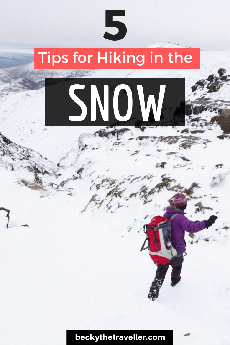Snowy day in the Peak District - Winter Hiking for Beginners