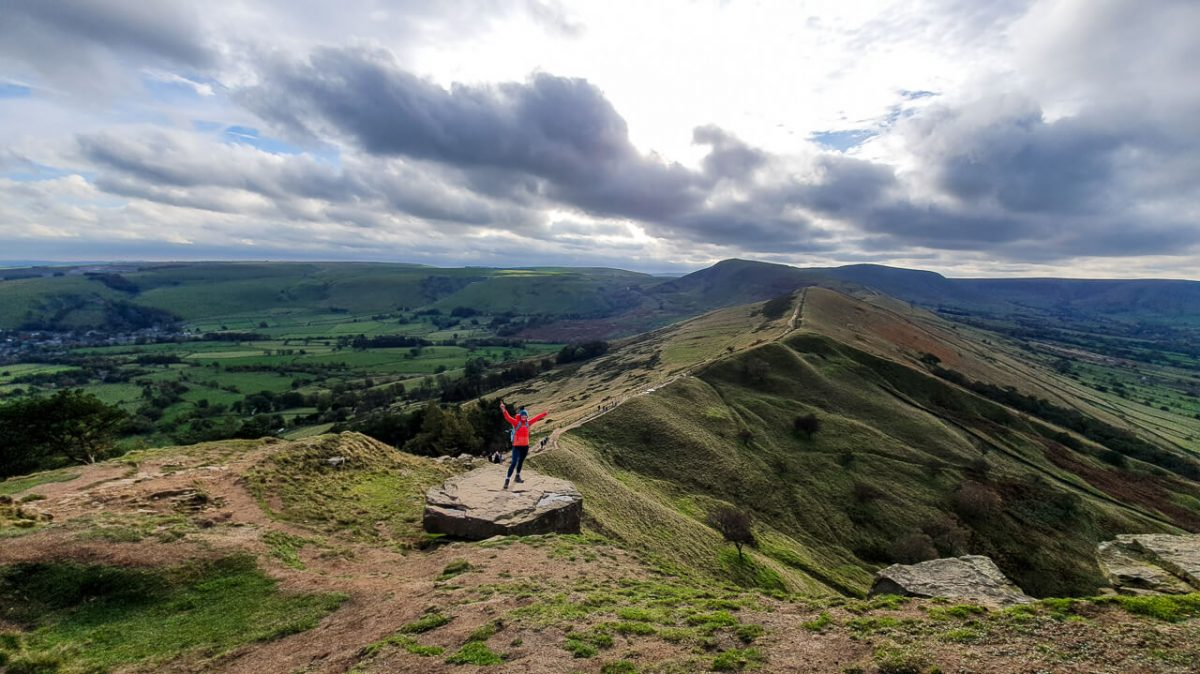 Views towards Mam Tor