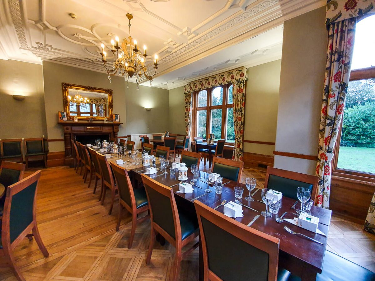 YHA Supper Club Dining Room