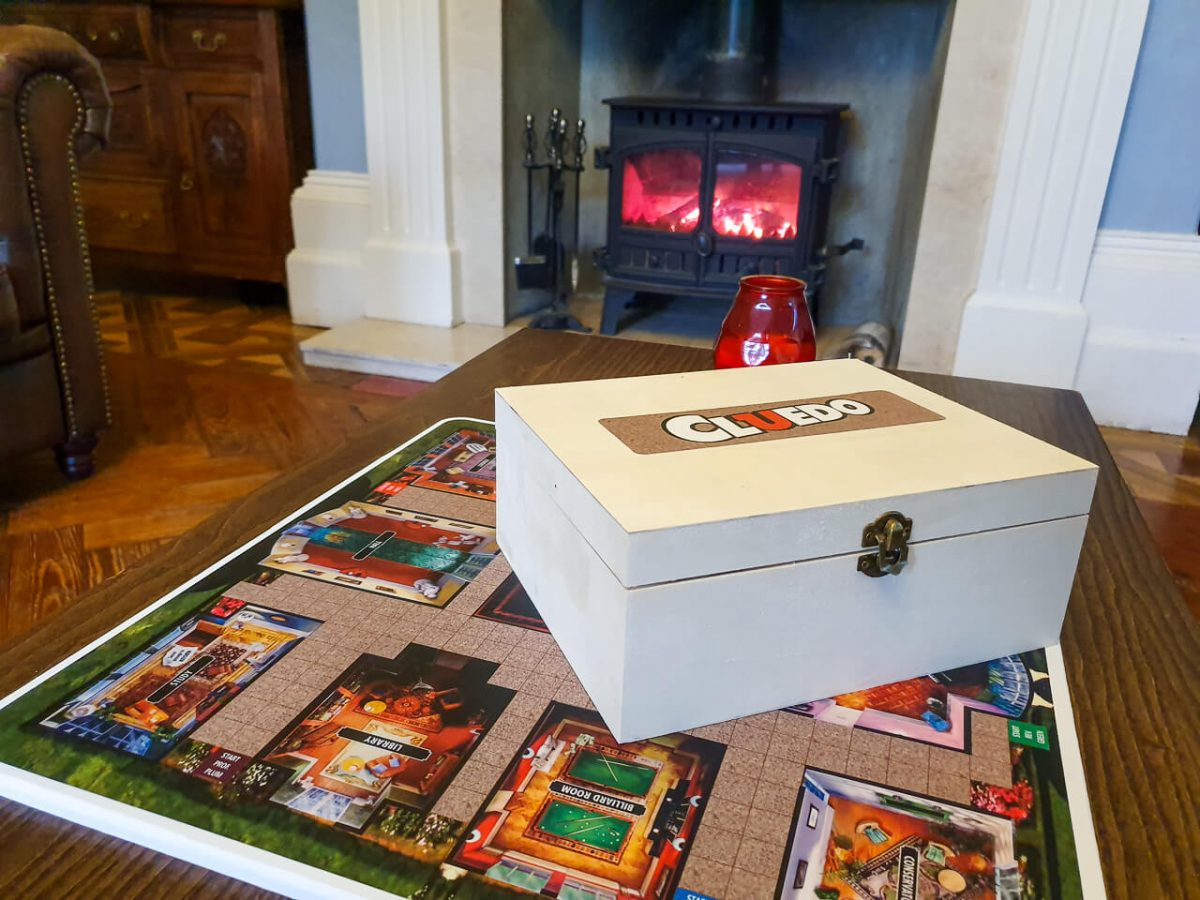 Cluedo game at YHA Castleton