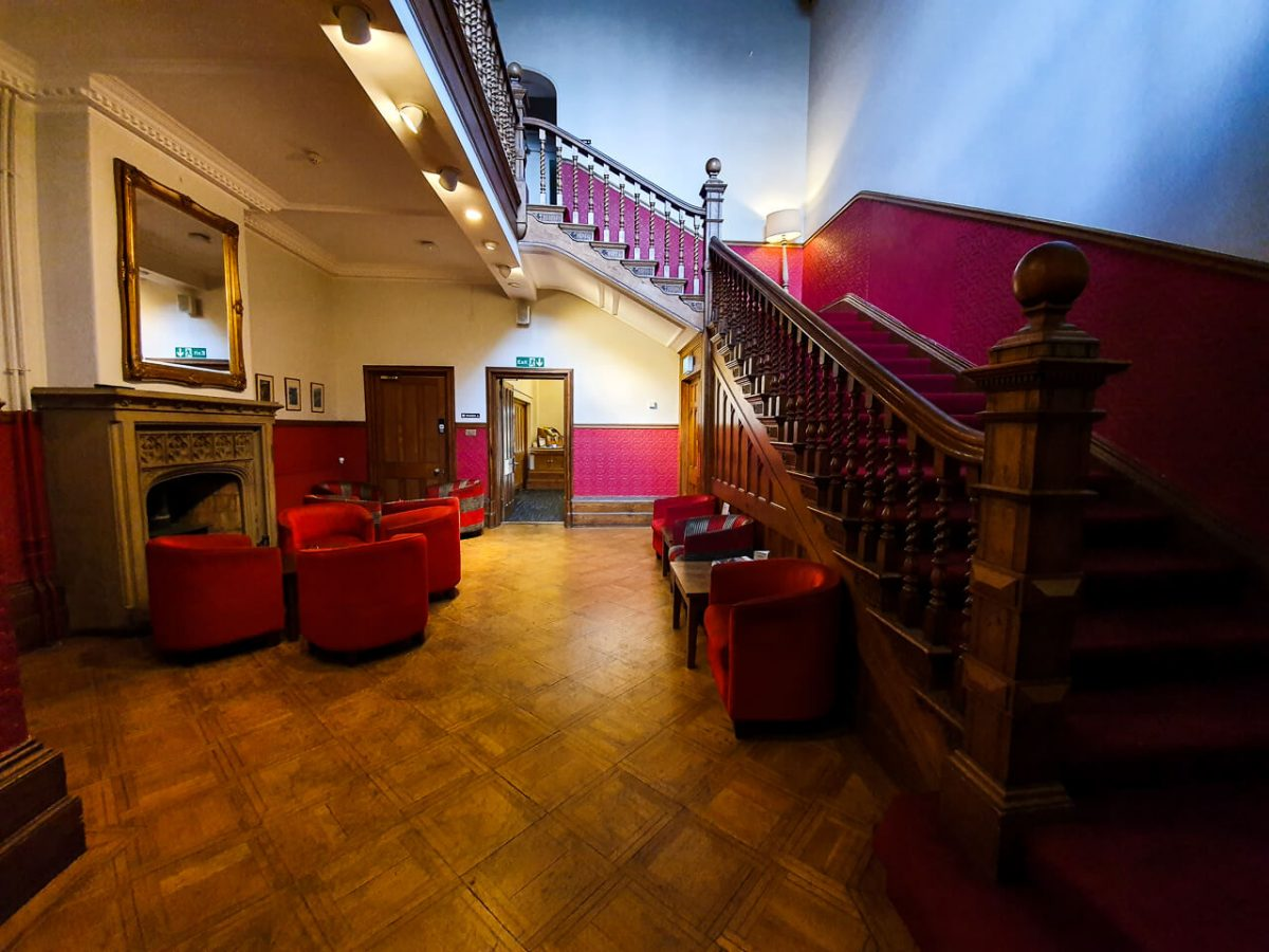 YHA Castleton staircase
