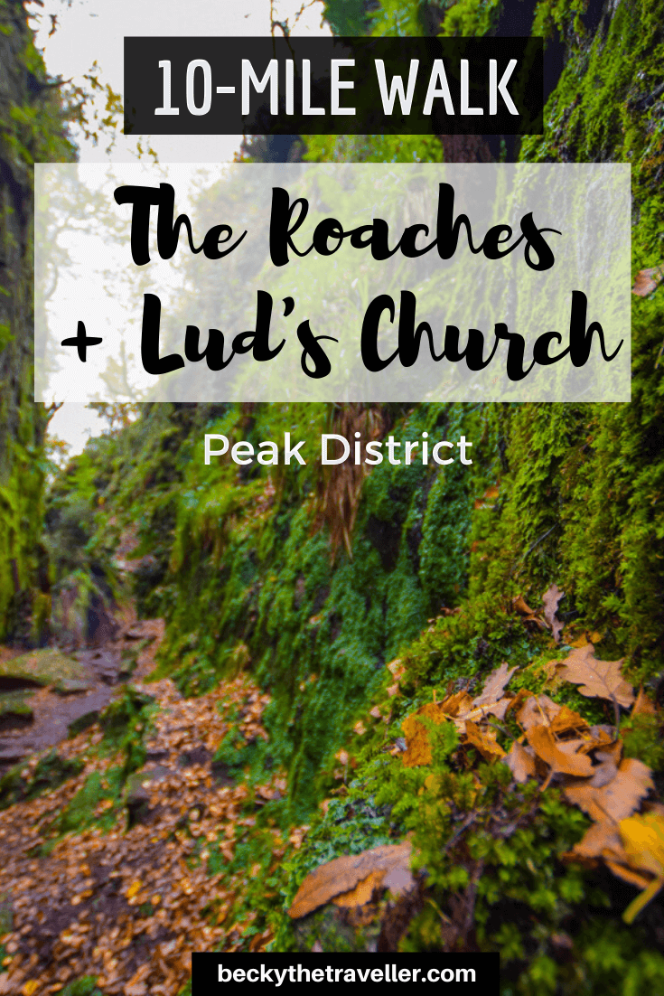 Lud's Church Walk in the Peak District