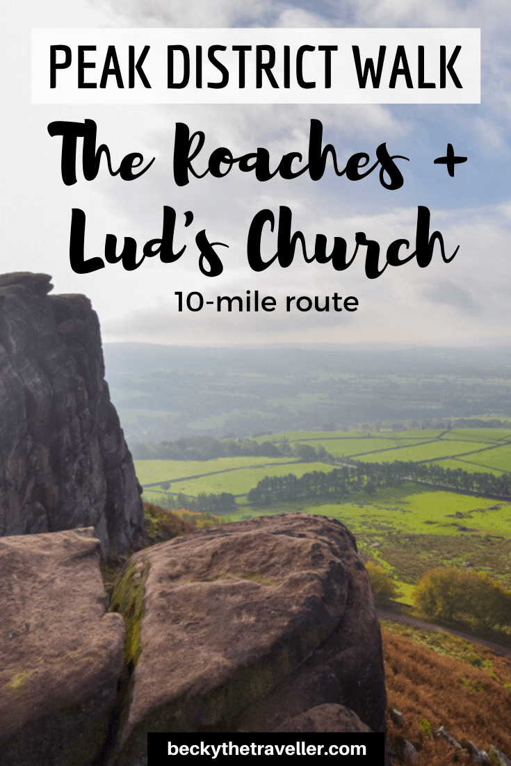 The Roaches walk Peak District
