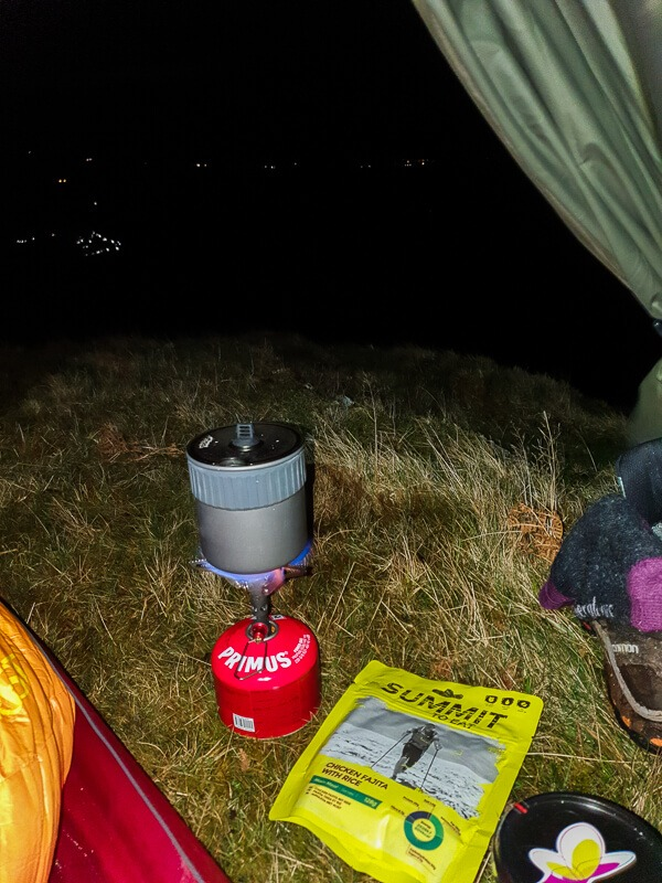 Summit to Eat meal and camping stove