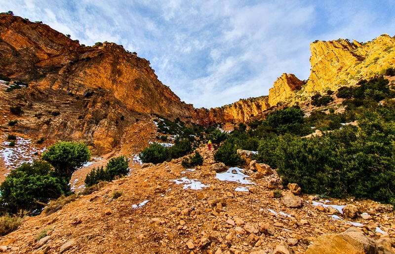 Hiking in the Atlas Mountains Morocco