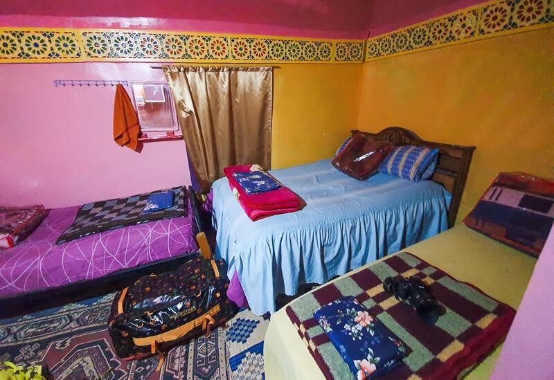 Bedroom in Moroccan Gite