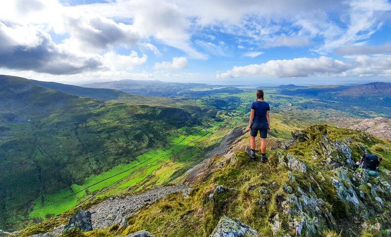 Cnicht summit on Snowdonia