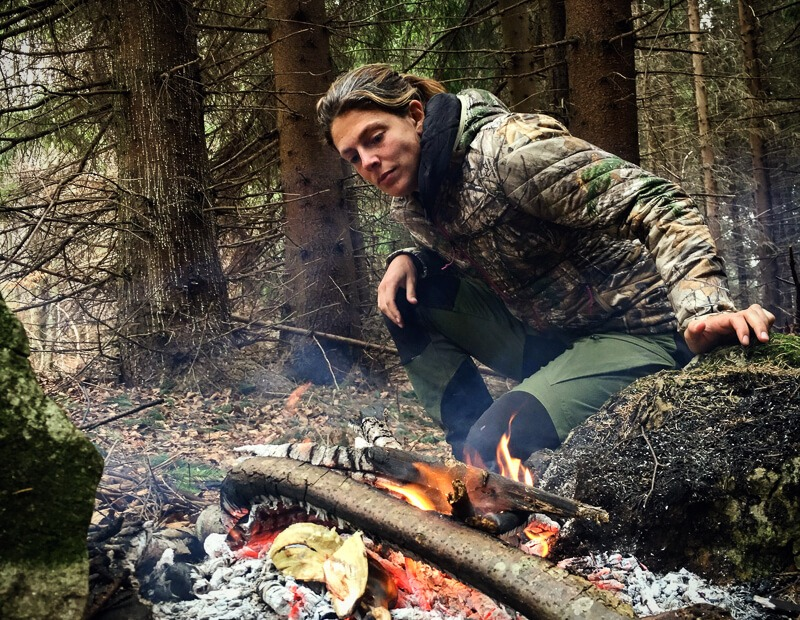 Megan Hine outdoor adventurer