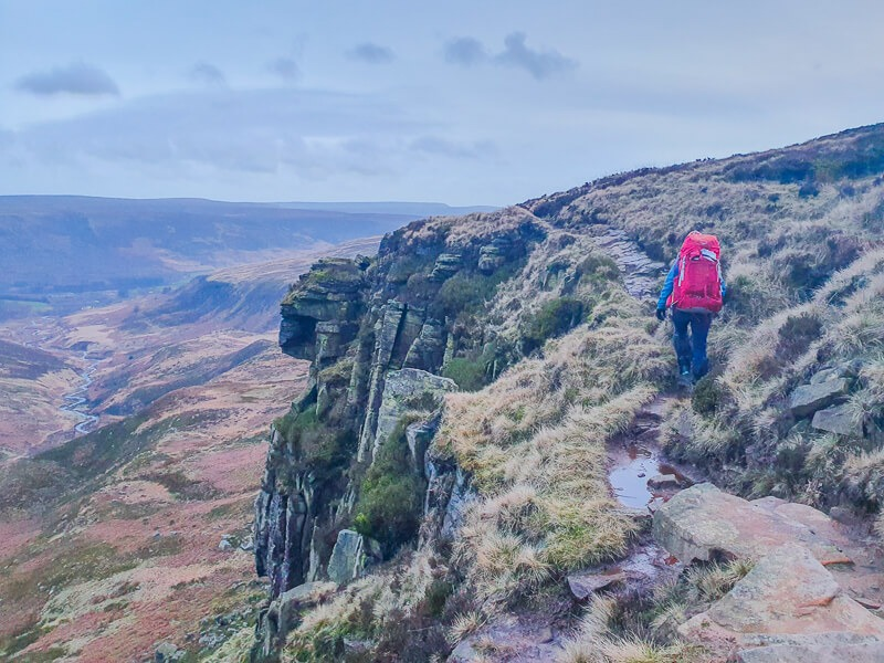 Hiking in Peak District