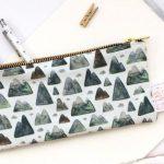 Mountain theme wallet - hiking gift