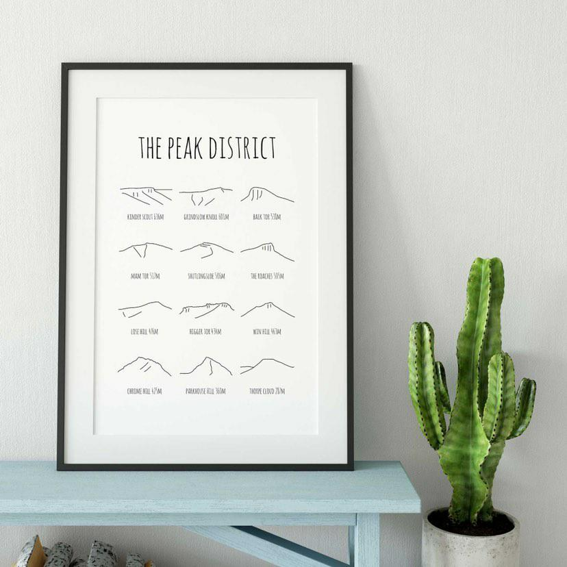 Peak District print - gifts