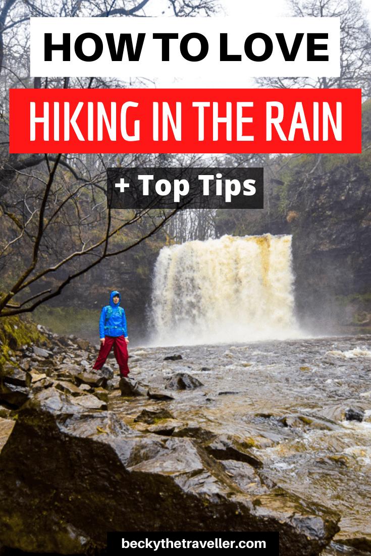 Waterfall - Walking in the rain wet weather gear