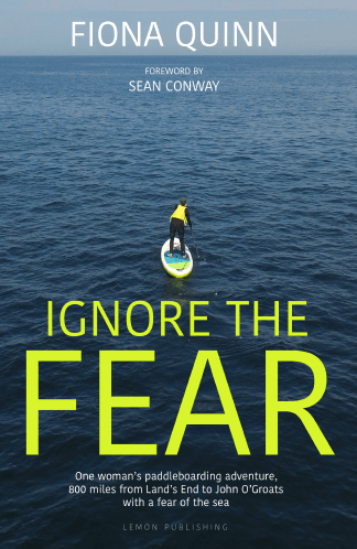 Ignore the fear - adventure book