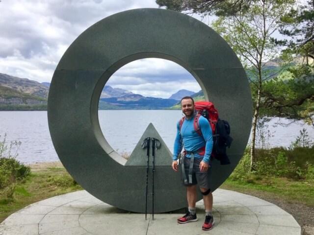Jamie Neill on West Highland Way day 2