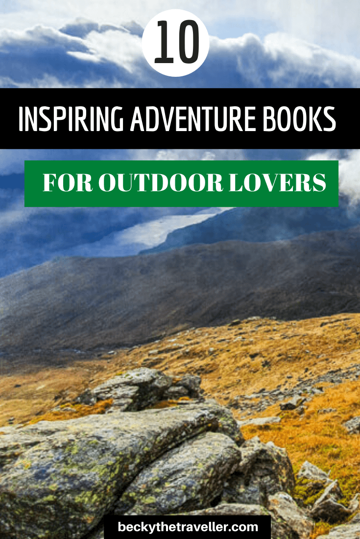 Outdoor adventure books