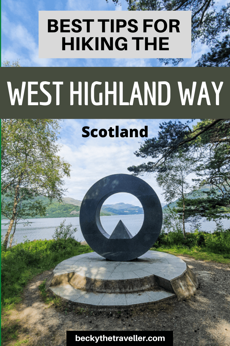 West Highland Way tips Scotland