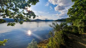 Loch Lomond on the West Highland Way