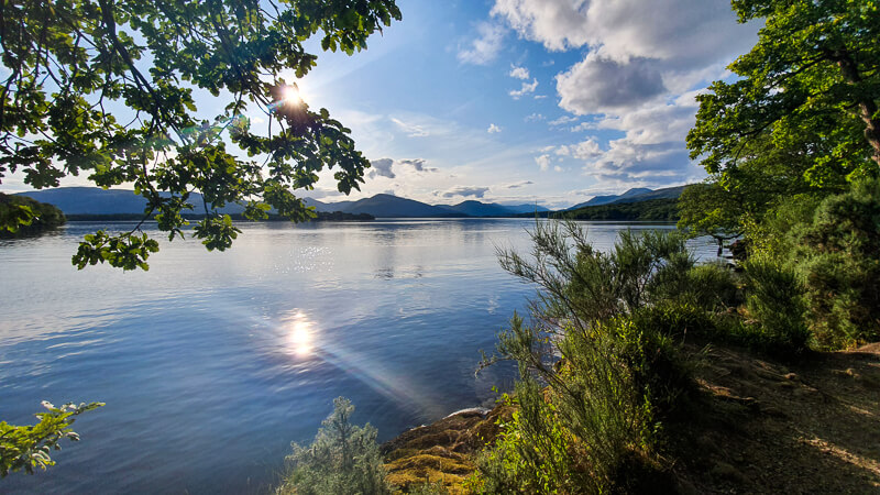 Loch Lomond on the West Highland Way