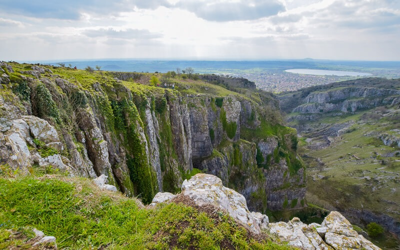 Views from top of Cheddar Gorge