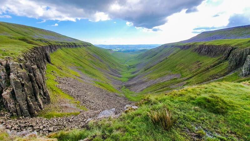 High Cup Nick in North Pennines