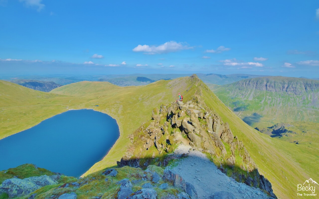 Helvellyn in the Lake District
