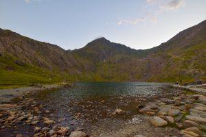 Snowdon in Snowdonia Wales