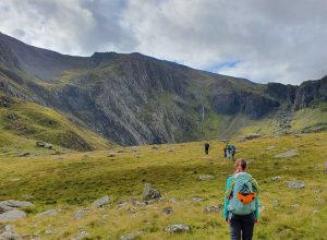 Mountain Leader training in Snowdonia