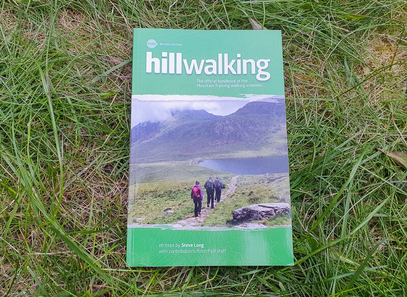 Hillwalking book for Mountain Leader Training
