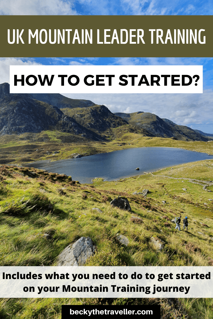 Mountain Leader training in Snowdonia pin