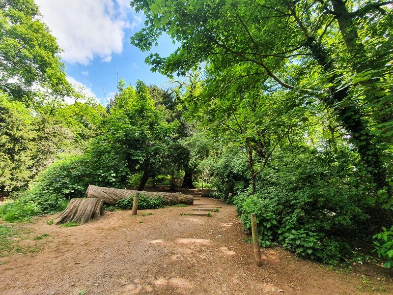 Bramcote Hills Park woods in Nottingham