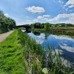 Erewash Canal on Erewash Valley Trail Nottingham