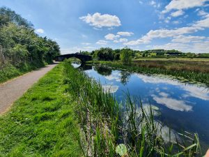 Erewash Canal on Erewash Valley Trail Nottingham