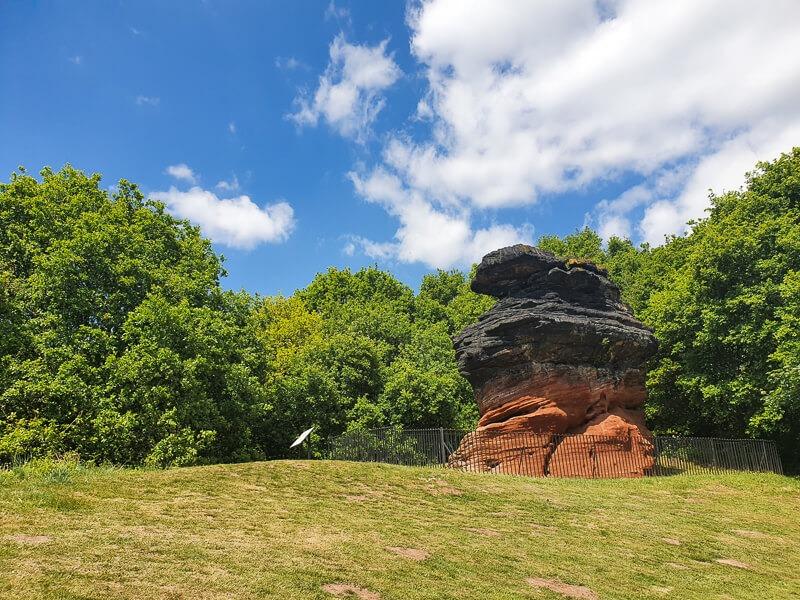 Hemlock Stone in Nottingham
