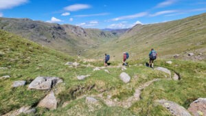 Walking on Cumbria Way