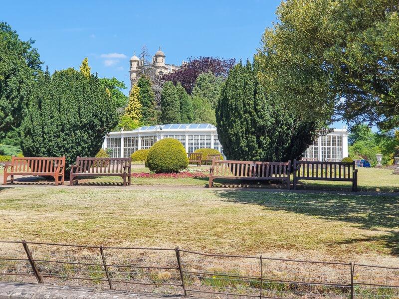 Gardens in Wollaton Park