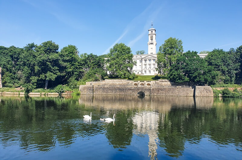Highfields Lake in Nottingham