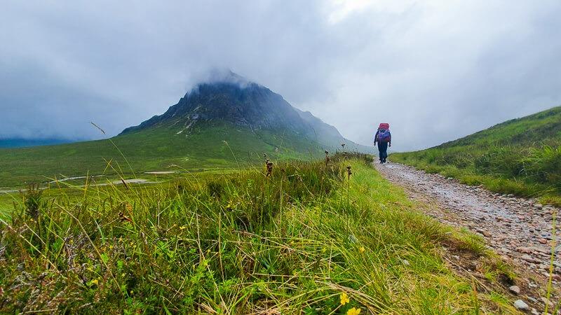 Stob Dearg Munro in Scotland