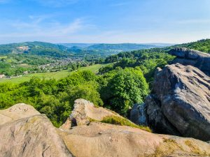 Rocks and views