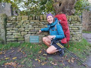 Start of Pennine Way national trail
