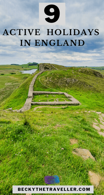 Hadrian's Wall in England holiday