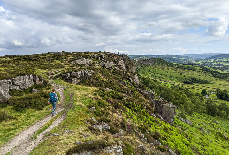 Curbar Edge Peak District